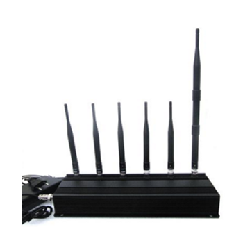 15w high power 6 Antenna 3G,4G mobile  phone jammer In Delhi